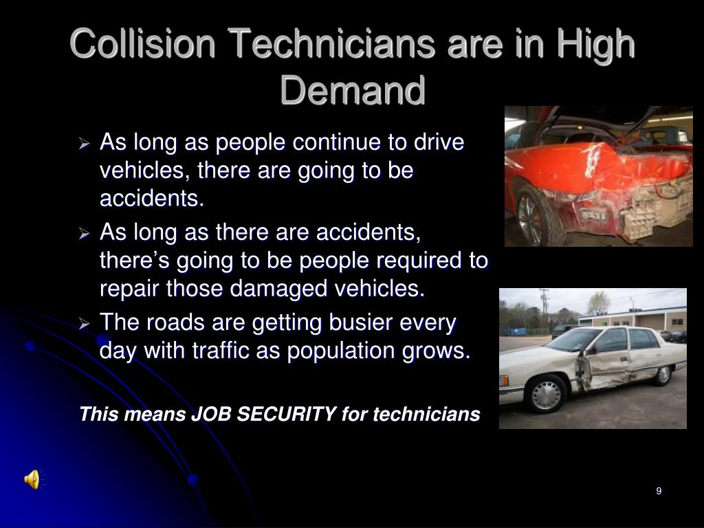 Collision Technicians are in High Demand