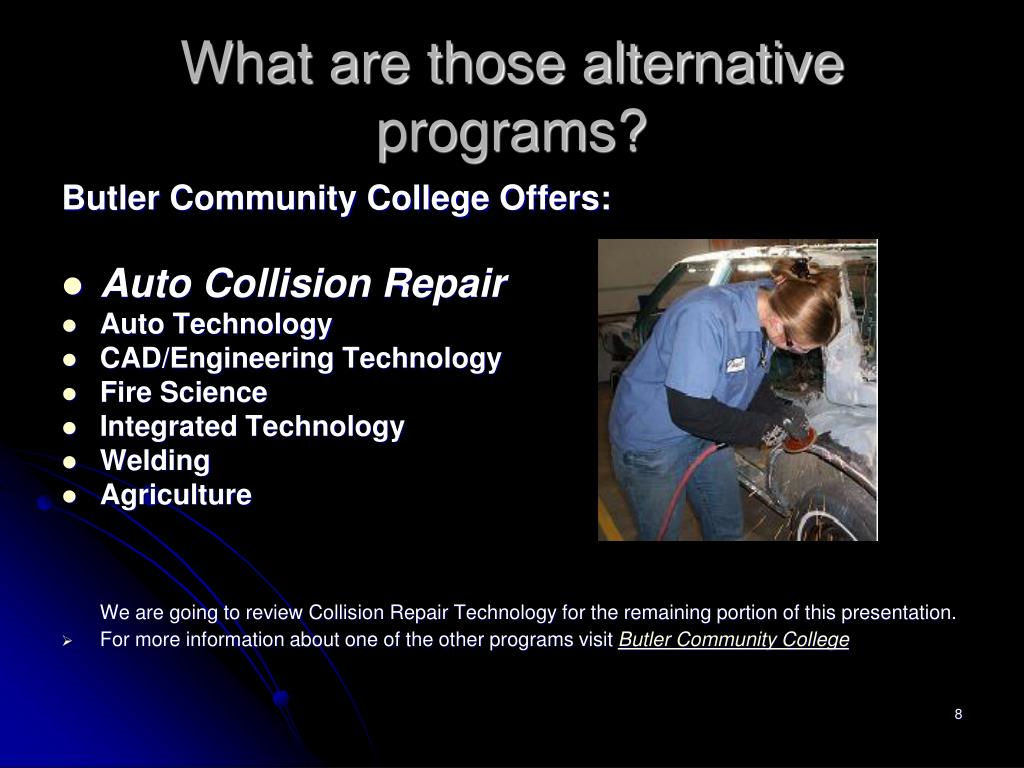 What are those alternative programs?