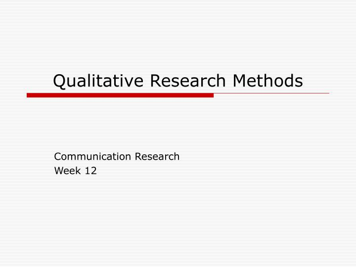status of qualitative research in early Artistic research, also seen as 'practice-based research', can take form when creative works are considered both the research and the object of research itself it is the debatable body of thought which offers an alternative to purely scientific methods in research in its search for knowledge and truth.