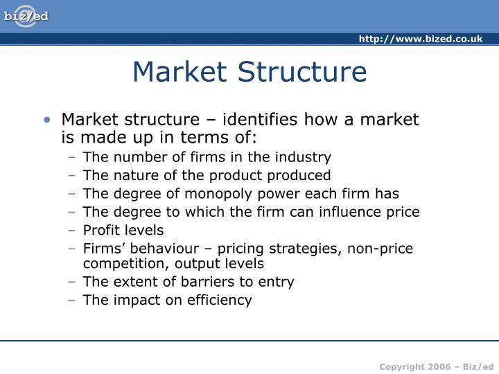 Market structure2