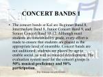concert bands 1
