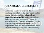 general guidelines 3