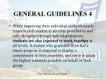general guidelines 4