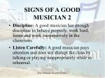 signs of a good musician 2