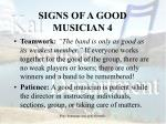 signs of a good musician 4