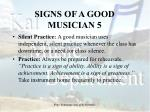 signs of a good musician 5