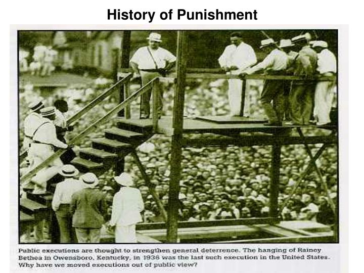 history of punishment Hard physical labour and extreme solitude formed part of the punishment for 19th century victorian prisoners.
