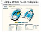 sample online seating diagrams