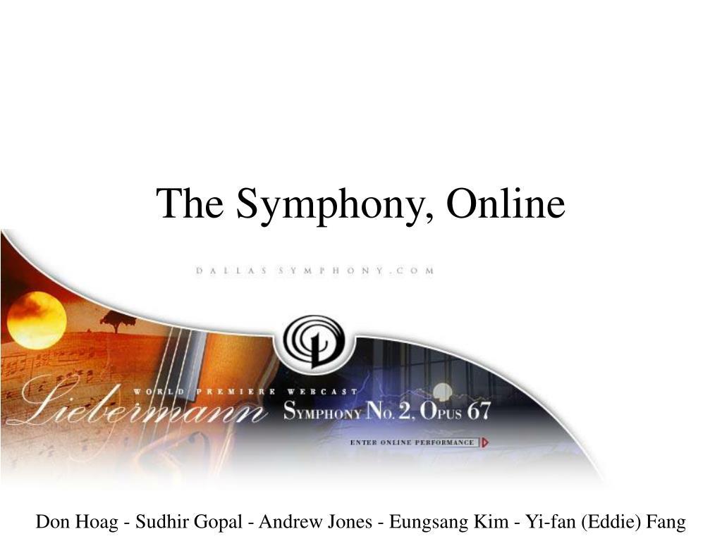the symphony online l.