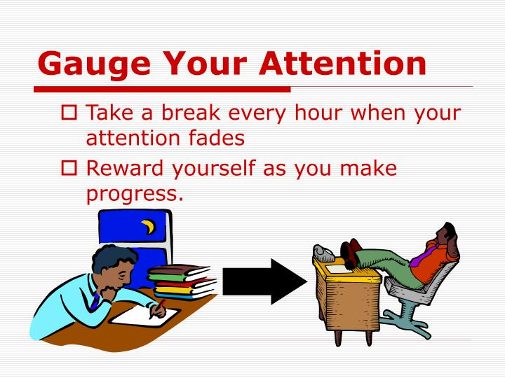 Gauge Your Attention