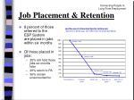job placement retention