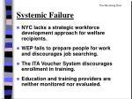 systemic failure