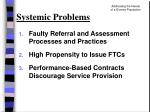 systemic problems23