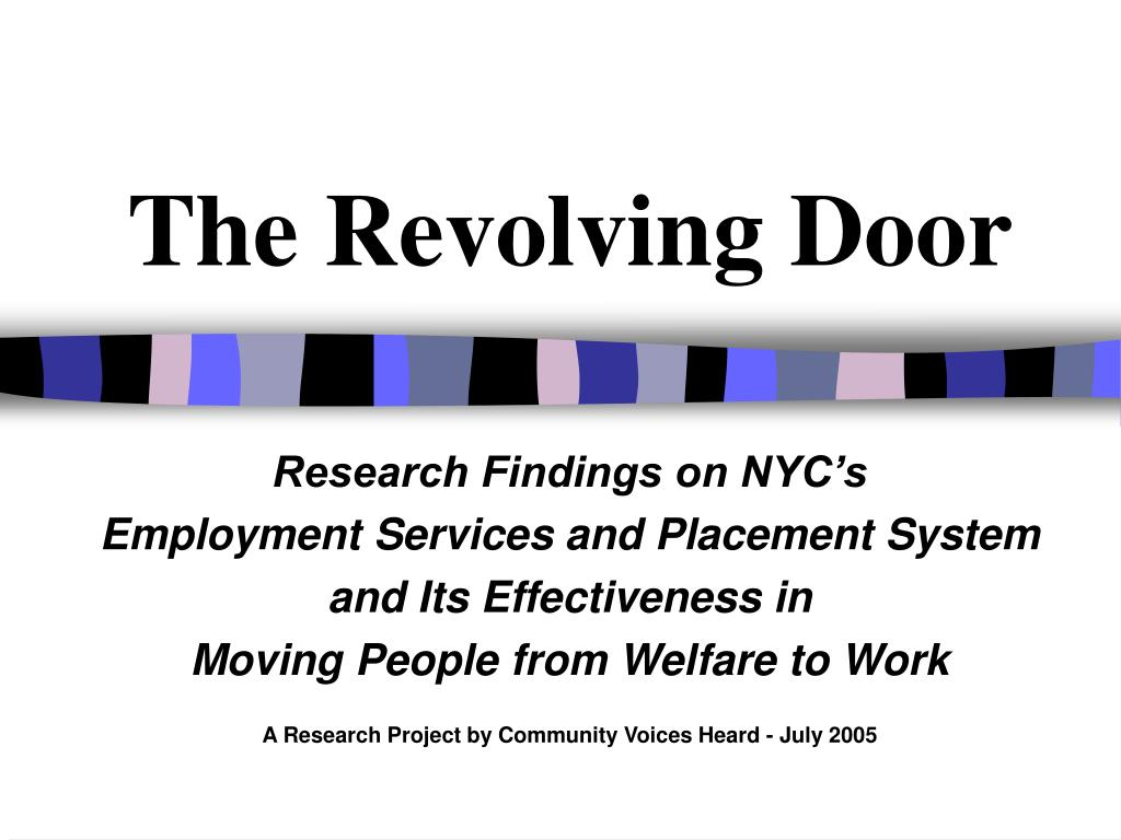 the revolving door l.