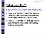 what is an esp