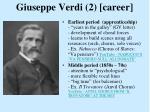 giuseppe verdi 2 career