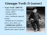 giuseppe verdi 3 career