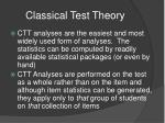 classical test theory1