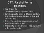 ctt parallel forms reliability1