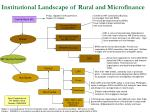 institutional landscape of rural and microfinance