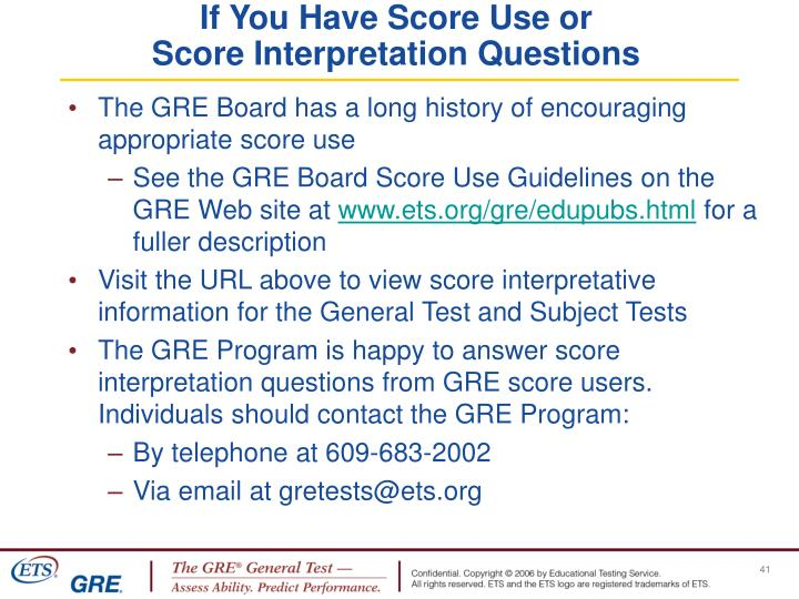If You Have Score Use or