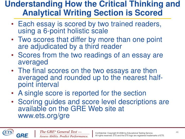 Understanding How the Critical Thinking and