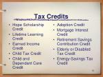 tax credits18