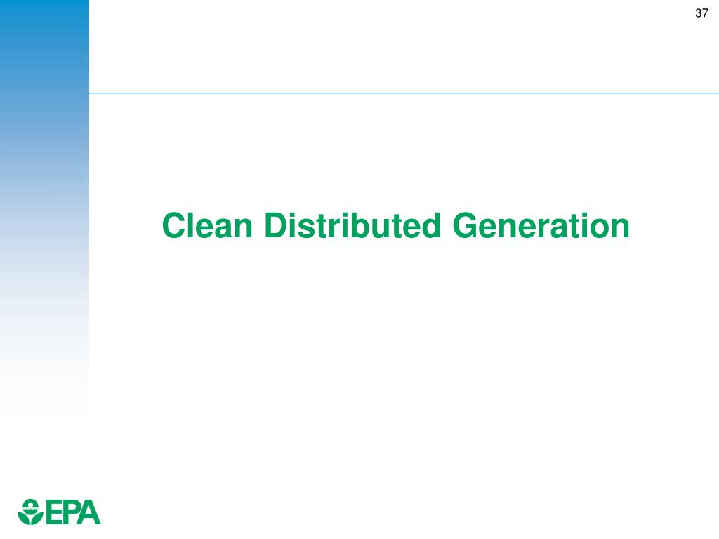 Clean Distributed Generation