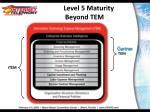 level 5 maturity beyond tem