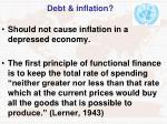 debt inflation