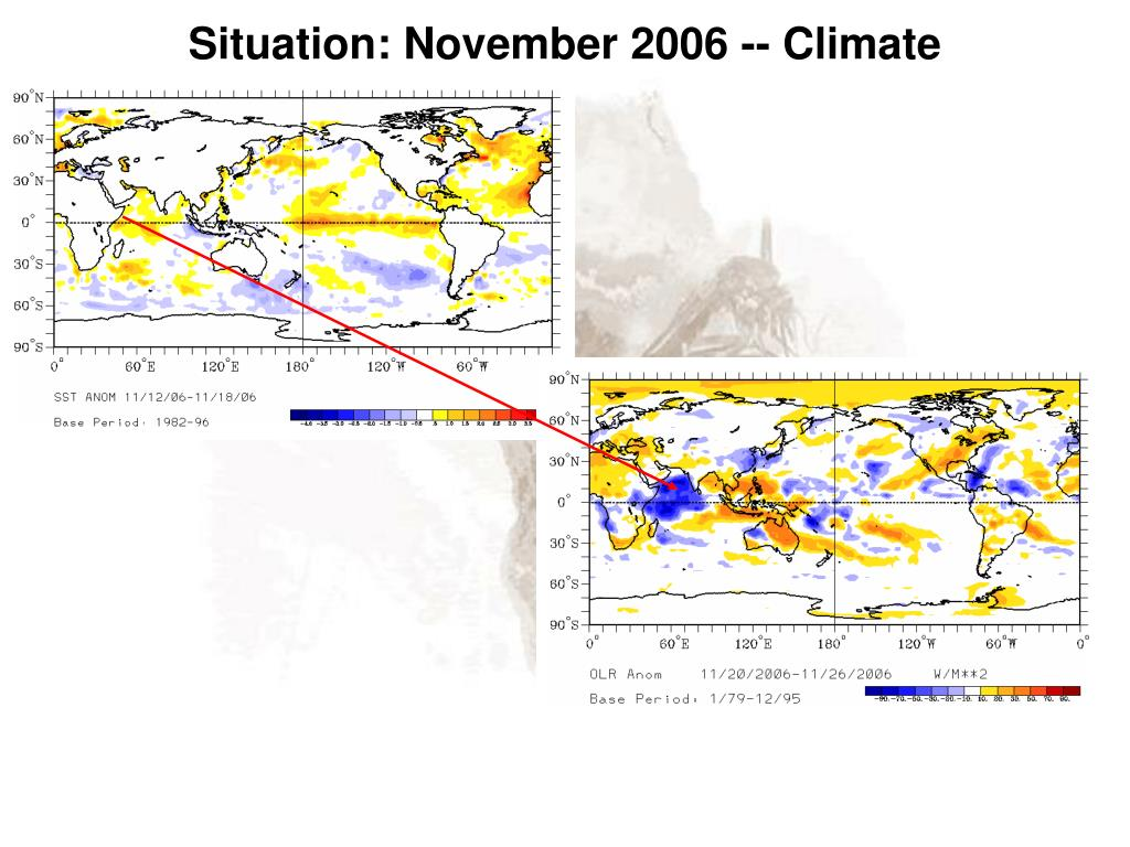 Situation: November 2006 -- Climate