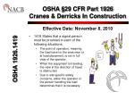 osha 29 cfr part 1926 cranes derricks in construction7