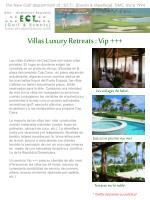 villas luxury retreats vip