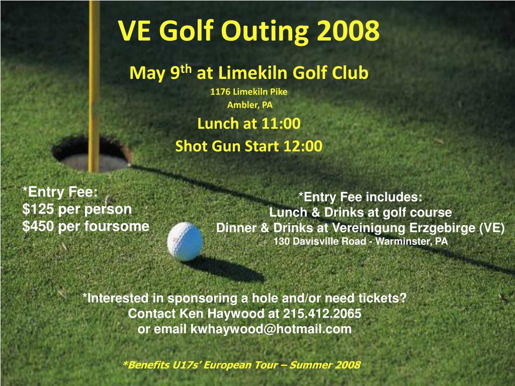 ve golf outing 2008 l.