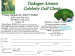 tuskegee airmen celebrity golf classic