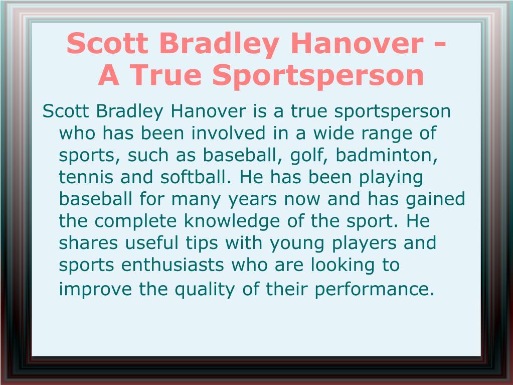 Scott Bradley Hanover -