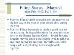 filing status married see pub 4012 pg 9 10
