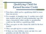qualifying child for earned income credit