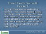 earned income tax credit exercise 2