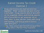 earned income tax credit exercise 2124