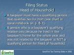 filing status head of household59