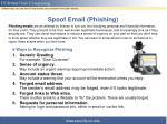 spoof email phishing