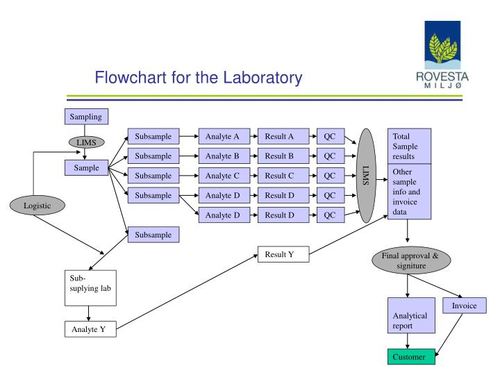 flowchart for the laboratory n.