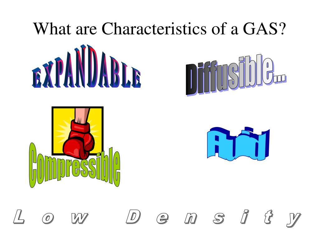 What are Characteristics of a GAS?