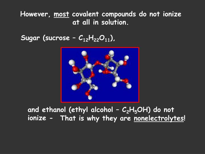 preparation of ethanol from sucrose The manufacture of ethanol from this page looks at the manufacture of alcohols by the maltose has the same molecular formula as sucrose but contains.