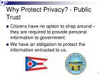 why protect privacy public trust