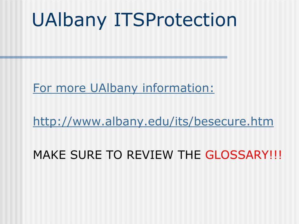 UAlbany ITSProtection