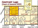 constraint logic hearn demaine 200932