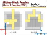 sliding block puzzles hearn demaine 2002