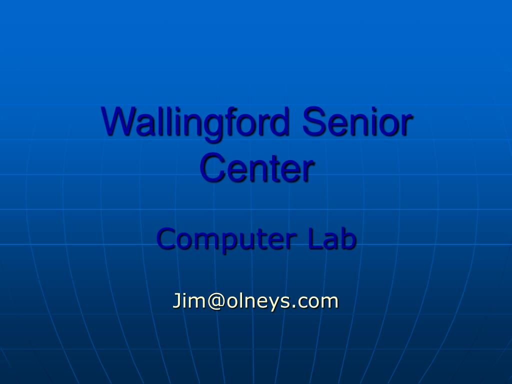 wallingford senior center l.